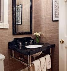 bathroom sink backsplash ideas 20 pedestal sink backsplash ideas to blend and modern looks