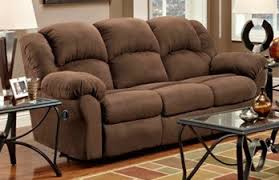 Double Reclining Sofa by Aruba Chocolate Double Reclining Sofa Bills Brothers