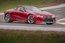 2017 lexus coupes 2017 lexus lc 500 coupe red images car images