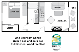 One Bedroom Condo Tunnel Mountain Resort - One bedroom townhome