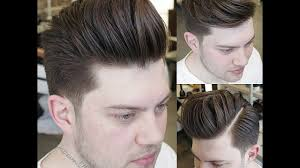 men latest hairstyles for round face medium haircuts