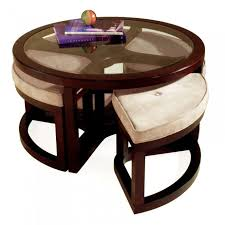 Table With Ottoman Underneath by Coffee Table 10 Round Coffee Table With Ottomans Underneath Lift