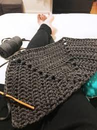 half hexagon crochet rug diy