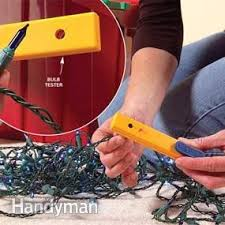 how to fix broken christmas lights how to fix christmas lights family handyman
