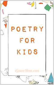 poetry for resources and activities