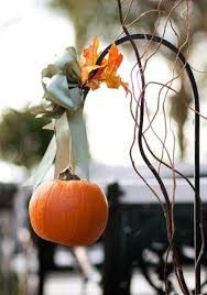 Fall Wedding Aisle Decorations - this is fun for an autumn wedding use shepherd u0027s hooks and hang