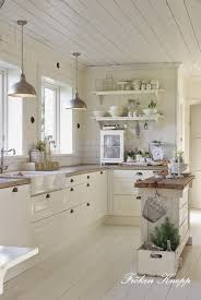 sinks off white cottage style kitchen wood countertop off white
