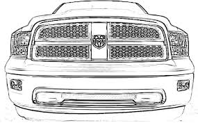 dodge truck coloring pages dodge ram coloring page stuff dodge rams