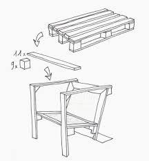 siege de style fauteuils de style avec palettesmeuble en palette meuble élégant