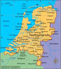 netherlands map cities netherlands map cities