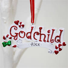 personalised ornaments personalised gifts for godchild