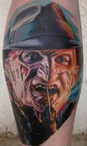 fantastic freddy krueger tattoo designs