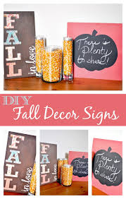 diy fall decor signs the love nerds