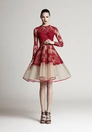 aliexpress com buy red applique prom dresses high neck long