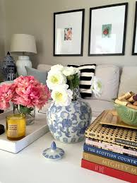 cottage and vine how to style your coffee table