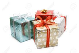 a of various christmas gift packages stock photo picture and