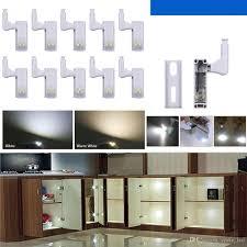 led kitchen cupboard cabinet lights 2021 led cabinet light sensor l inner hinge lights