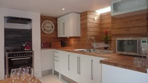 Installing Hardware On Kitchen Cabinets Decor U0026 Tips Stunning Kitchen Install With Oak Shiplap Panelling