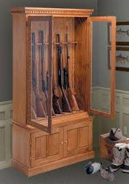 Free Wooden Gun Cabinet Plans Gun Cabinet Woodworking Plans Free Plans Plans For Homemade