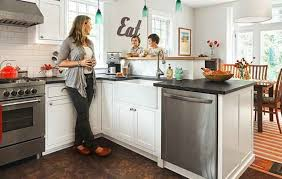12 small kitchen layouts for better space organization design