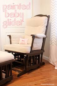 Nursery Glider Rocking Chair Painted Baby Glider How To Nest For Less