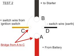wiring diagrams starter motor starter relay ford alternator
