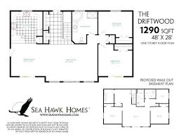 walkout basement floor plans walkout bungalow floor plans basement blueprints white house