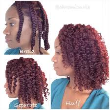 what type of hair can be used for crotchet braids stretched hair with curlformers is a perfect way to set up for