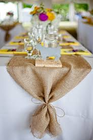 tulle table runner tie end of table runner party ideas wedding food