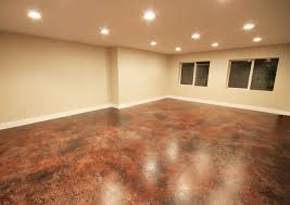 Basement Floor Finishing Ideas Concrete Basement Floor Finishing Ideas Rubber Mats For Basement