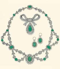 diamond sets design gorgeous vintage emerald and diamond necklaces gorgeous gems and
