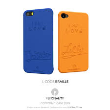 Blind People Phone Lovers Cases For Blind People Readable Thanks To Braille Fonts