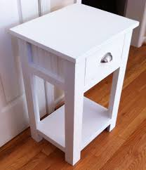 ana white simple white nightstand diy projects