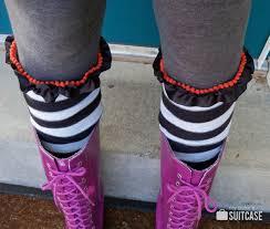 halloween socks diy boot socks from old sweaters my sister u0027s suitcase packed