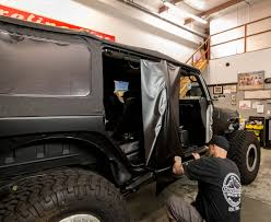 jeep wrangler unlimited half doors 3m vinyl vehicle wrap our jeep jk gets a new paint job without