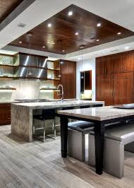 contemporary kitchen with pendant light by detailsadesignfirm
