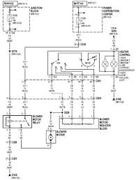 2000 jeep cherokee heater control circuit diagram wiring diagram