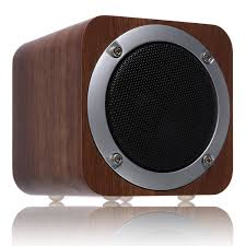bluetooth speaker wooden zenbre f3 6w portable bluetooth 4 0