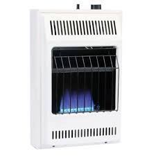 wall mount garage heater dyna glo 20 000 btu blue flame vent free lp wall heater bf20pmdg