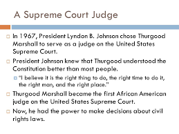 civil rights lawyer and supreme court judge ppt video online
