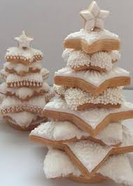 christmas tree cookies white u2013 happy holidays