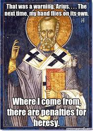 St Nicholas Meme - nicholas and arius