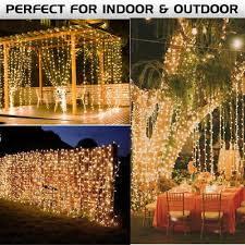 wedding backdrop fairy lights curtain wedding backdrop icicle fairy light 6x3m 600led string