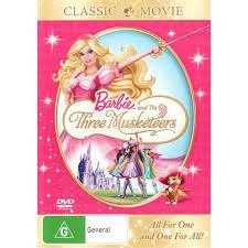 barbie musketeers dvd big