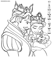 tangled coloring pages coloring pages to download and print