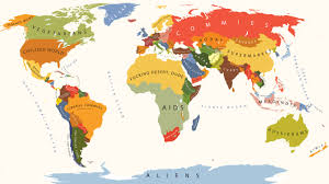 Fat Map Usa by The World According To Americans Dudeiwantthat Com
