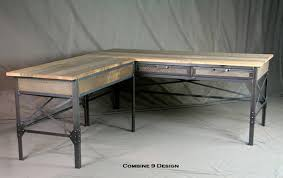 Metal L Shaped Desk New Industrial L Shaped Desk With Storage Foter Onsingularity