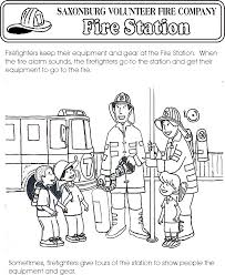saxonburg vfc color page firefighter