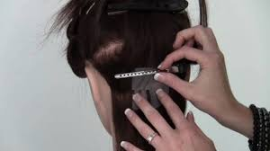 Infusions Hair Extensions by Learn How To Apply Remove Fusion Hair Extensions Youtube