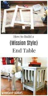 best 25 mission style end tables ideas on pinterest mission